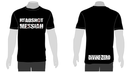 Divine:Zero Headshot Messiah T-Shirt